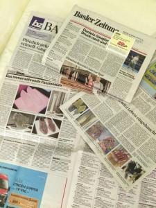 Kranten strijkkralen basel